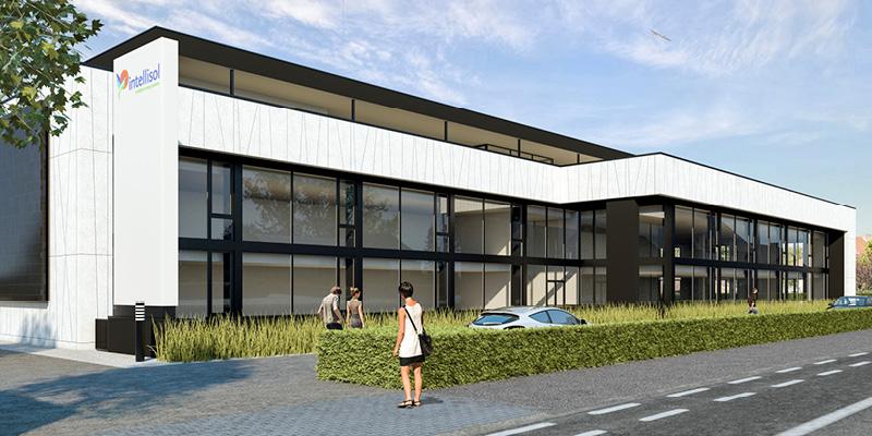 render nieuwbouw Intellisol/Energiecentrum