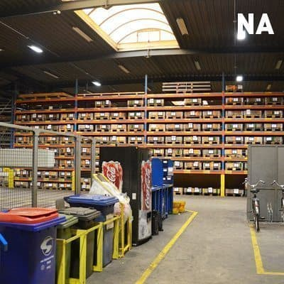 relighting bij Hegge nv door Intellisol, situatie na relighting