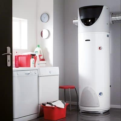 warmtepompboiler in washok