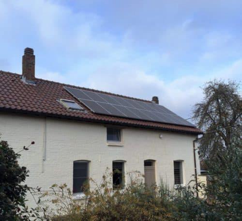 zonnepanelen installatie in hoeselt, geplaatst door Intellisol