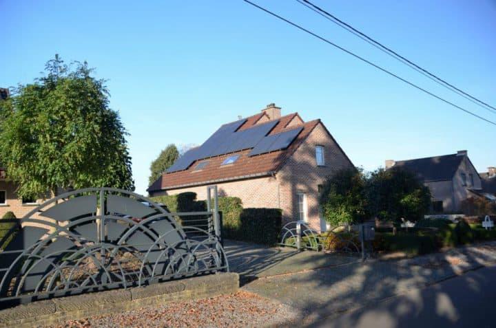 zonnepanelen op hellend dak