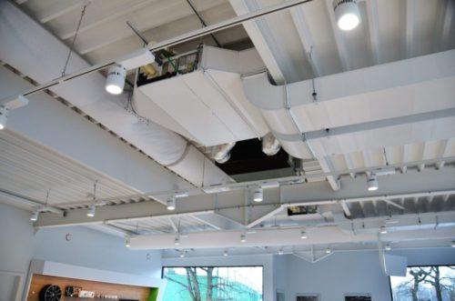 Infrarood Verwarming Garage : Relighting en hvac bij skoda garage willems intellisol
