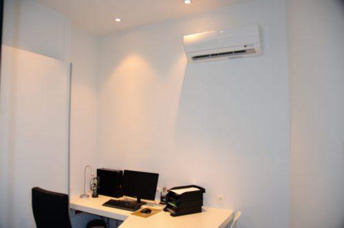 Apotheek In het Zwaard Tongeren warmtepomp kantoor