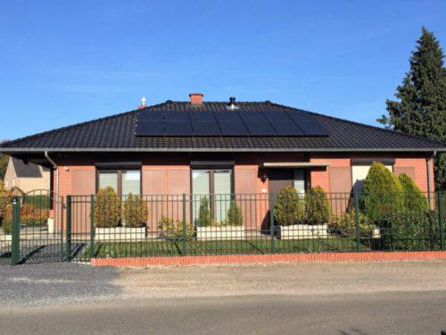 zonnepanelen installatie bij een particulier in neeroeteren 2