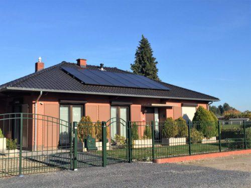 zonnepanelen installatie bij een particulier in neeroeteren