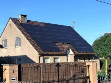 zonnepanelen installatie bij een particulier in Opglabbeek