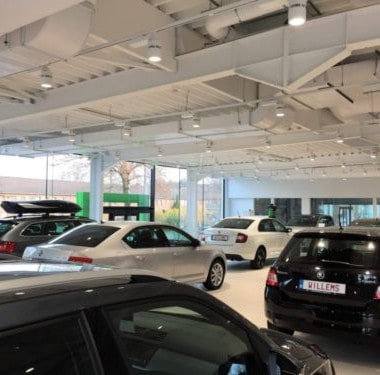 verwarming, ventilatie en relighting bij skoda garage willems in genk