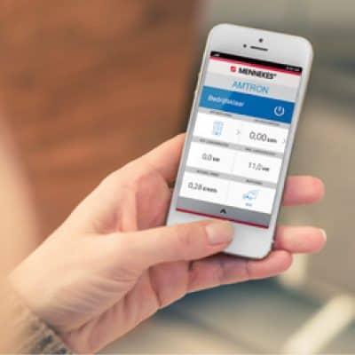 smartphone applicatie van mennekes voor opladen elektrisch voertuig