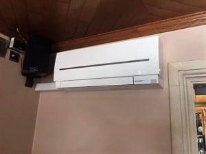 Warmtepomp binnenunit Mitsubishi
