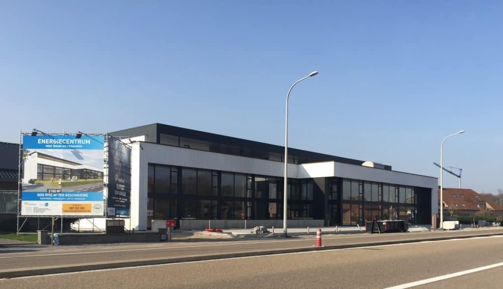 bouw van Energiecentrum in maart 2017