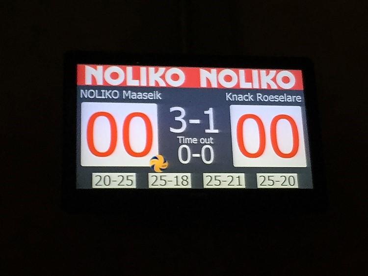 eindstand volleybal maaseik-roeselare