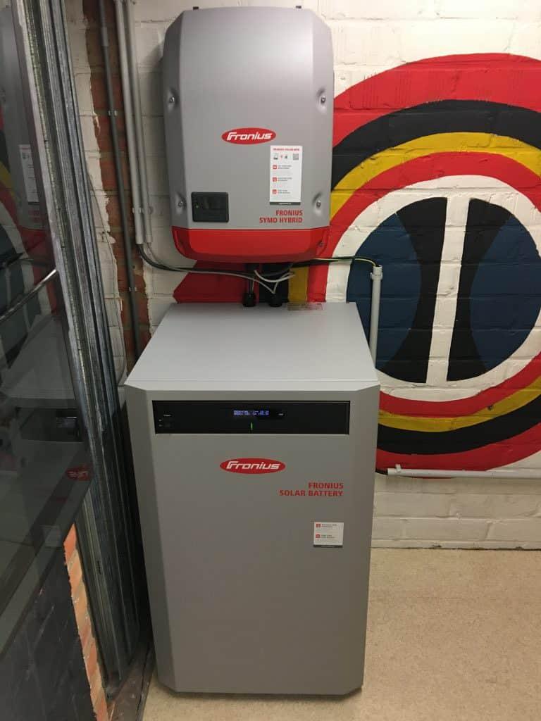 Fronius Hybrid en solar battery installatie