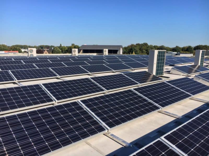 zonnepanelen plat dak Licata Vini 2