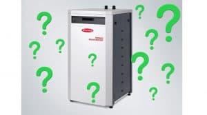 fronius solar batterij met vraagtekens